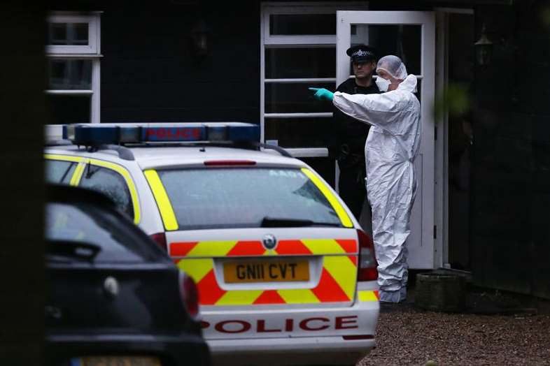 Police found drugs paraphernalia at the home of Peaches Geldof in Wrotham. Picture: Jim Bennett
