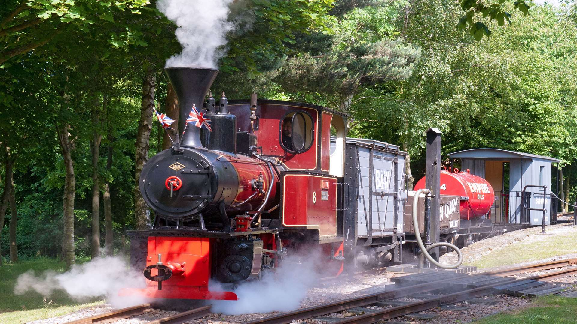 The Bredgar & Wormshill Light Railway Picture: Alan Crotty