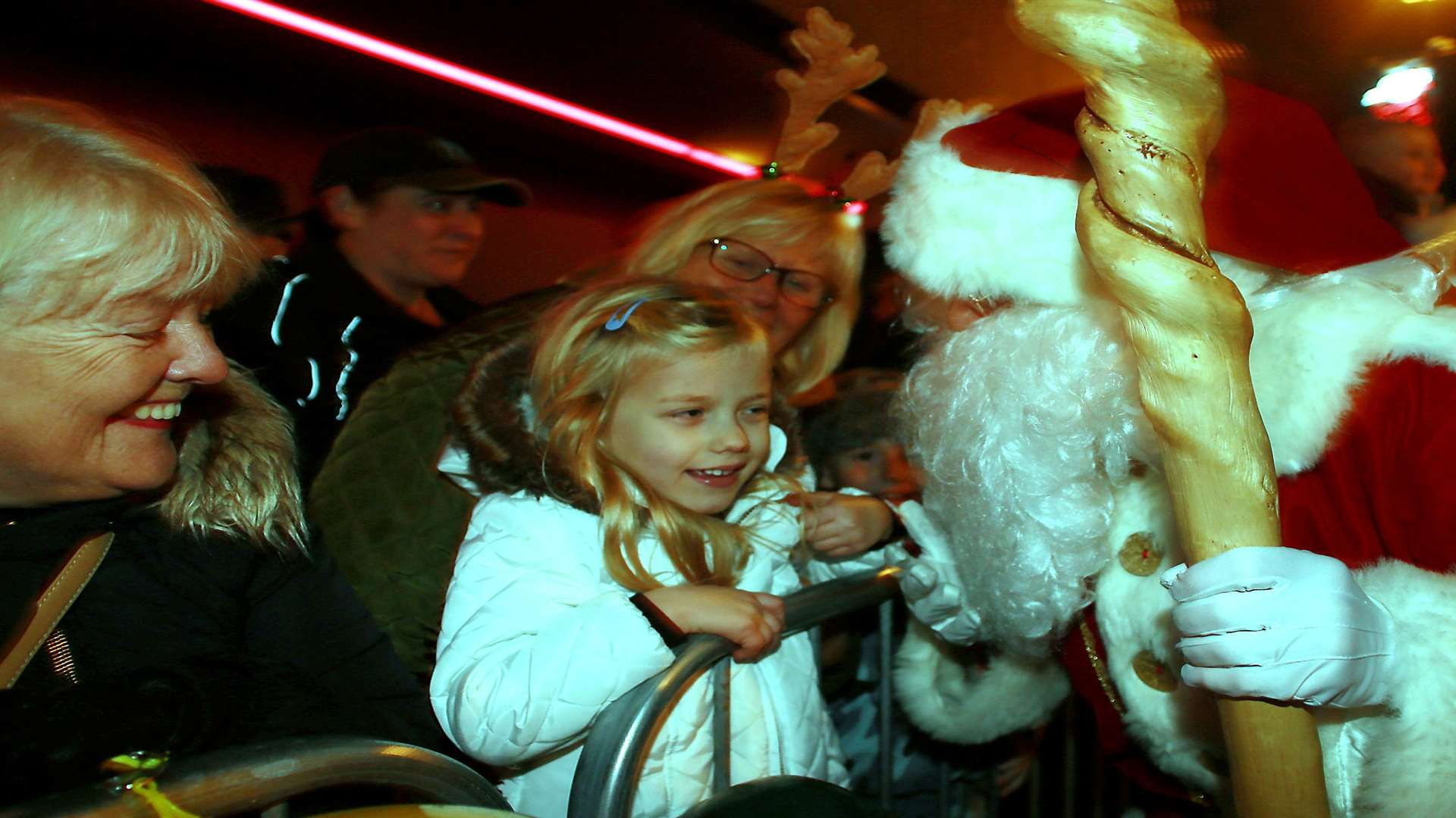 Last year's event featured Father Christmas