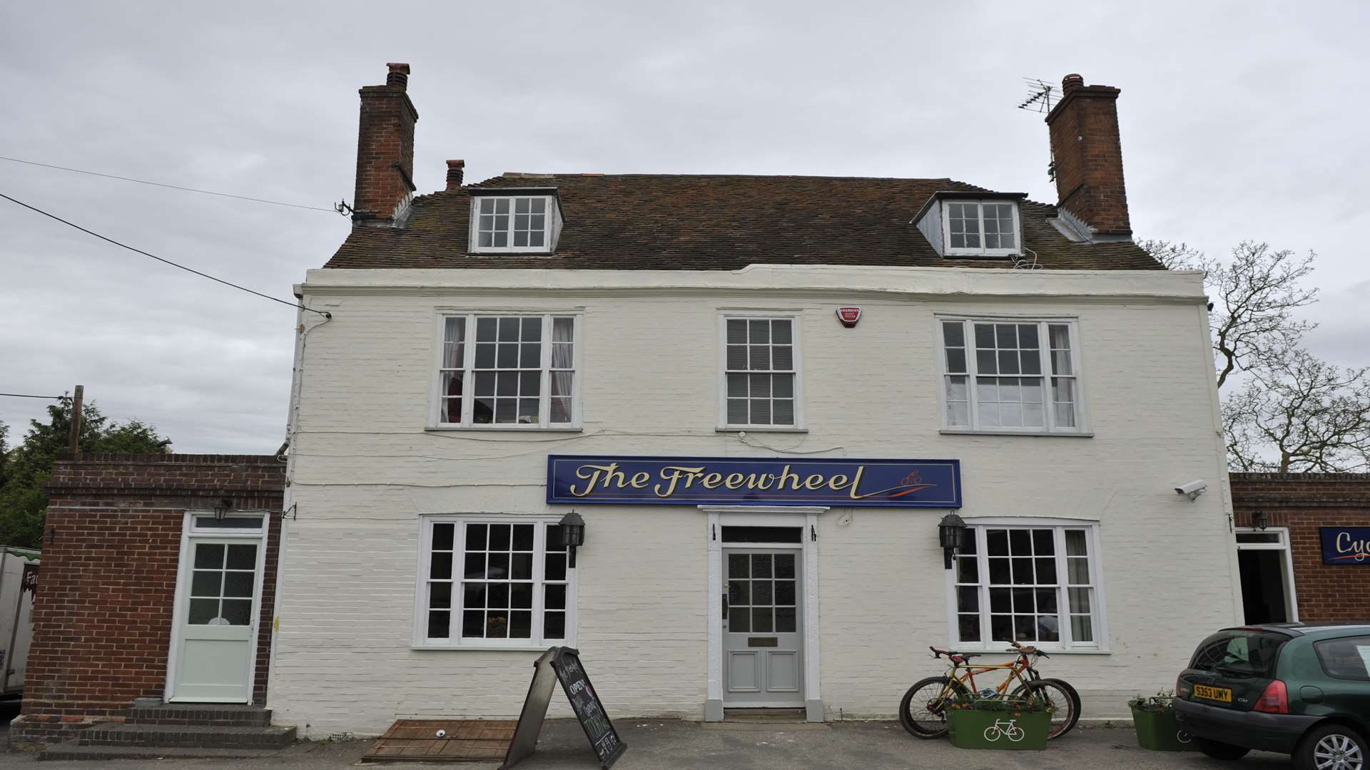The Freewheel in Graveney near Faversham