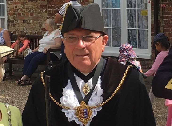 Mayor of Sandwich and speaker of the confederation of the Cinque Ports, Cllr Paul Graeme.