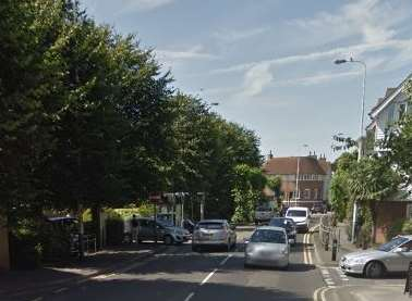 Prospect Road in Hythe near Waitrose where the incident was alleged to have happened. Picture: Google