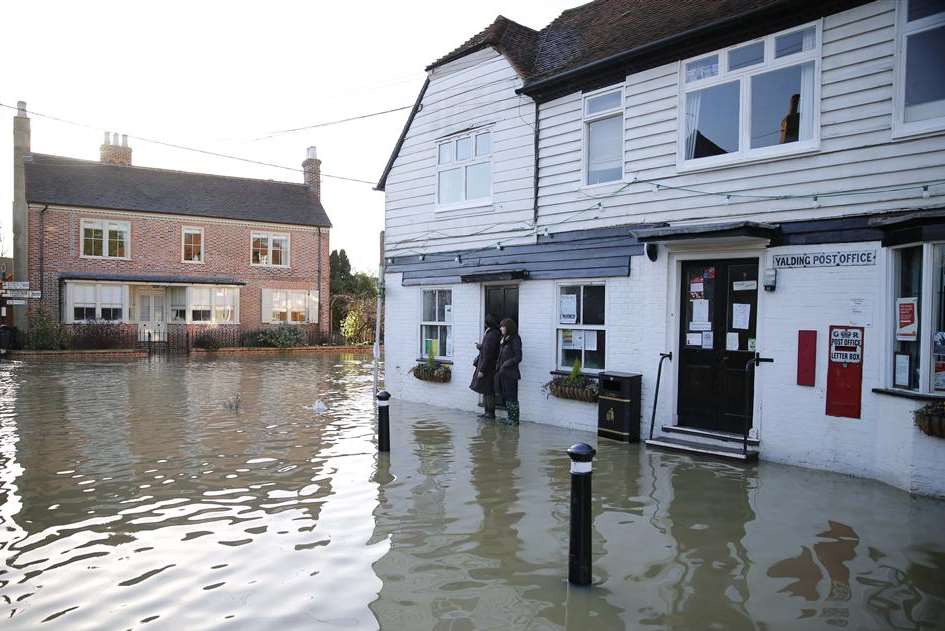 Flood-hit Yalding was among the worst affected