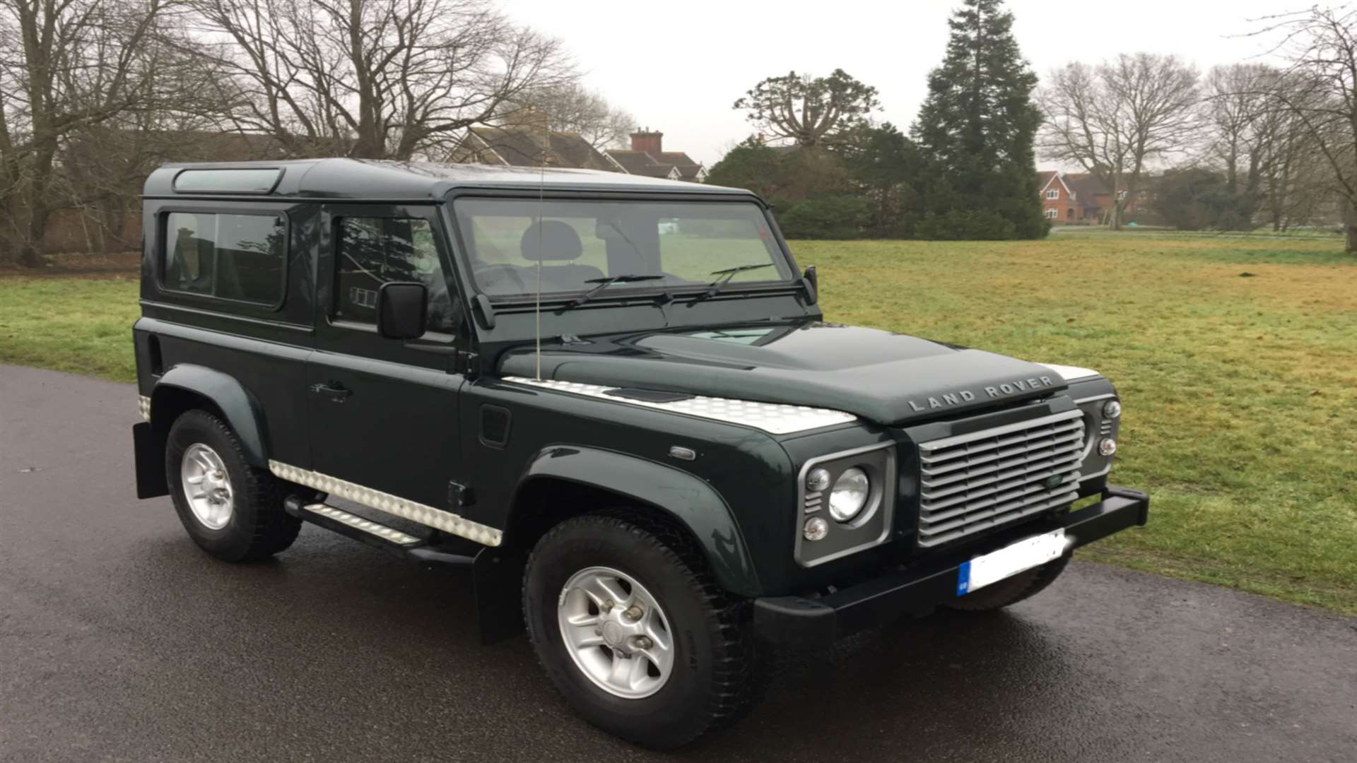 The Land Rover was left in a car park close to Hildenborough train station, in Tonbridge.