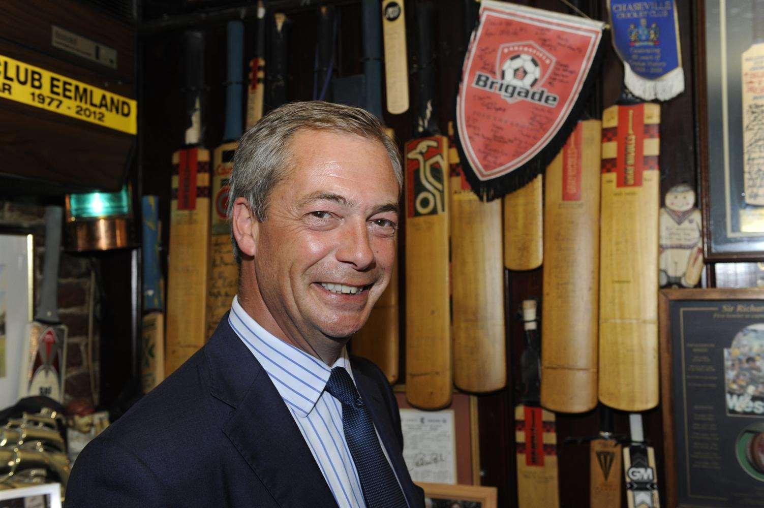 Nigel Farage was the favourite to win the Ukip nomination. Picture: Tony Flashman