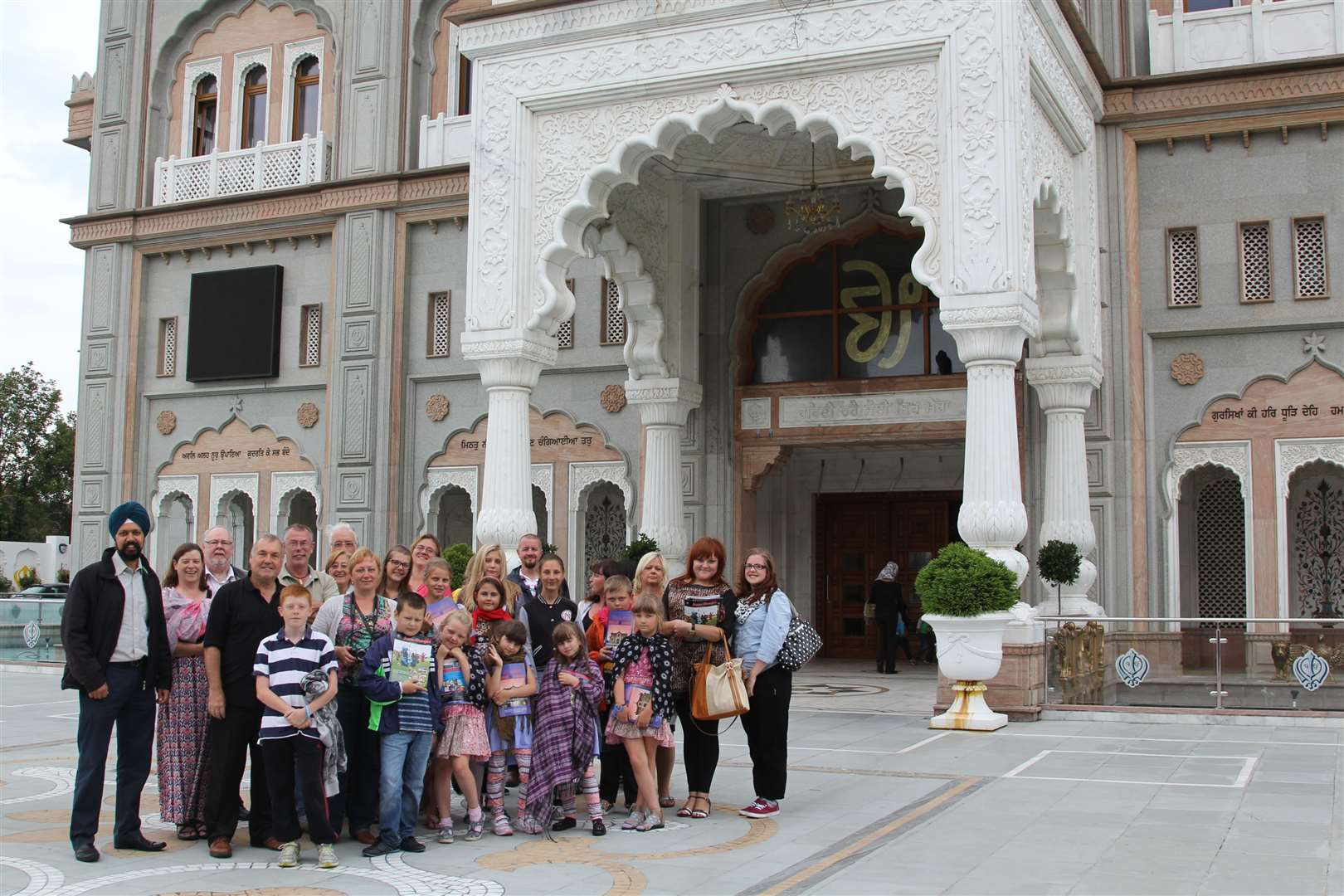 A group of children from Chernobyl have come on holiday thanks to host families in Gravesend.