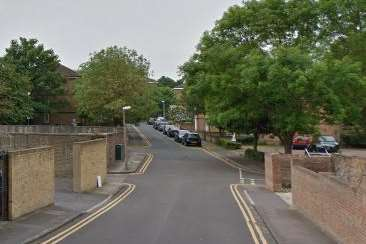 Police were called to Fort Pitt Street in Chatham. Picture: Google Street View