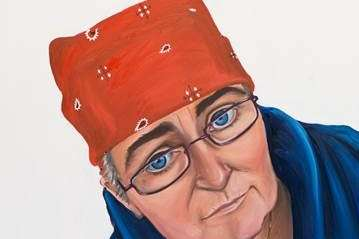 There will be 54 portraits and paintings on display. Picture: Antonia Rolls