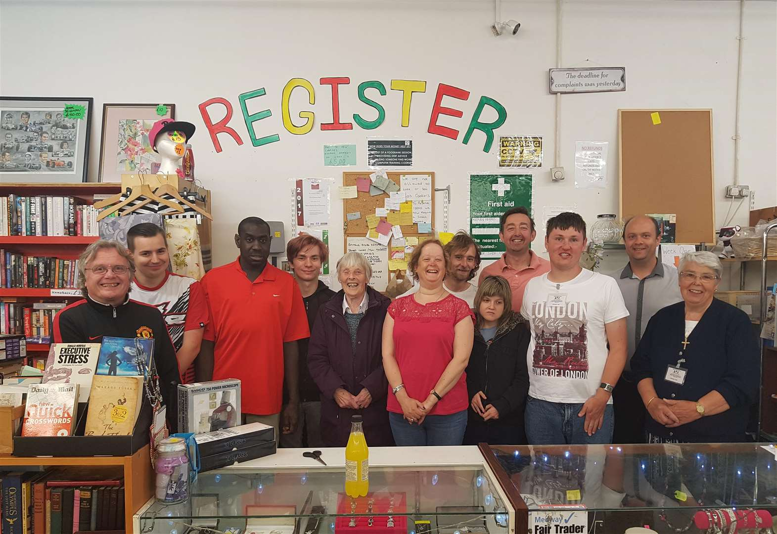 Charity-run shop is saved