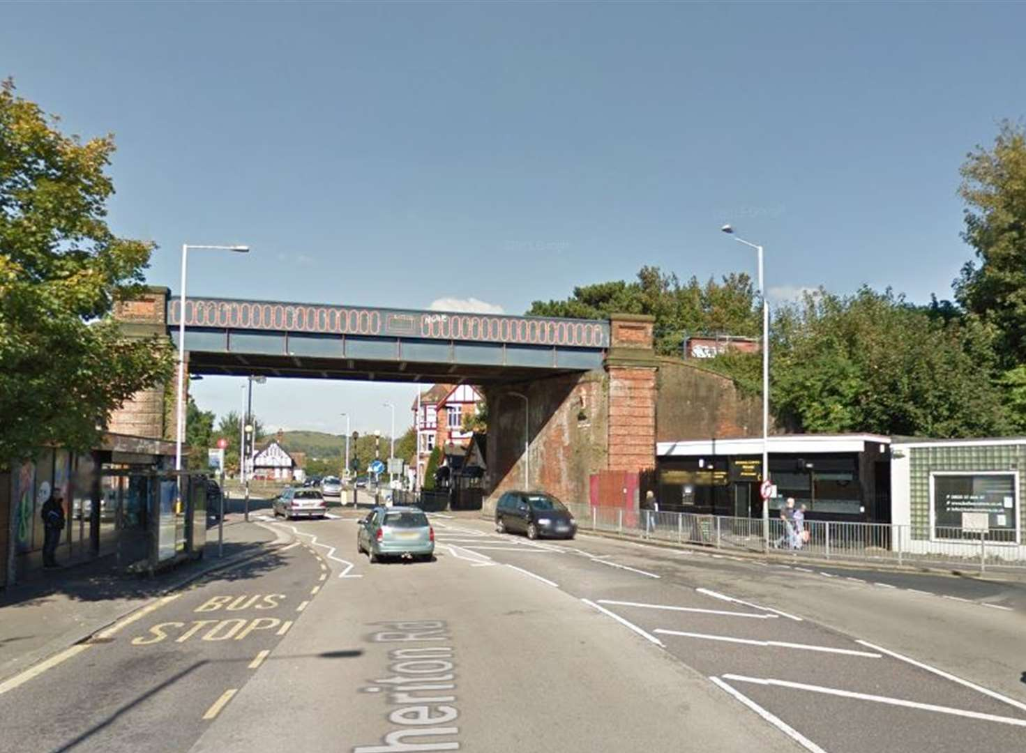 Man attacked by gang outside station
