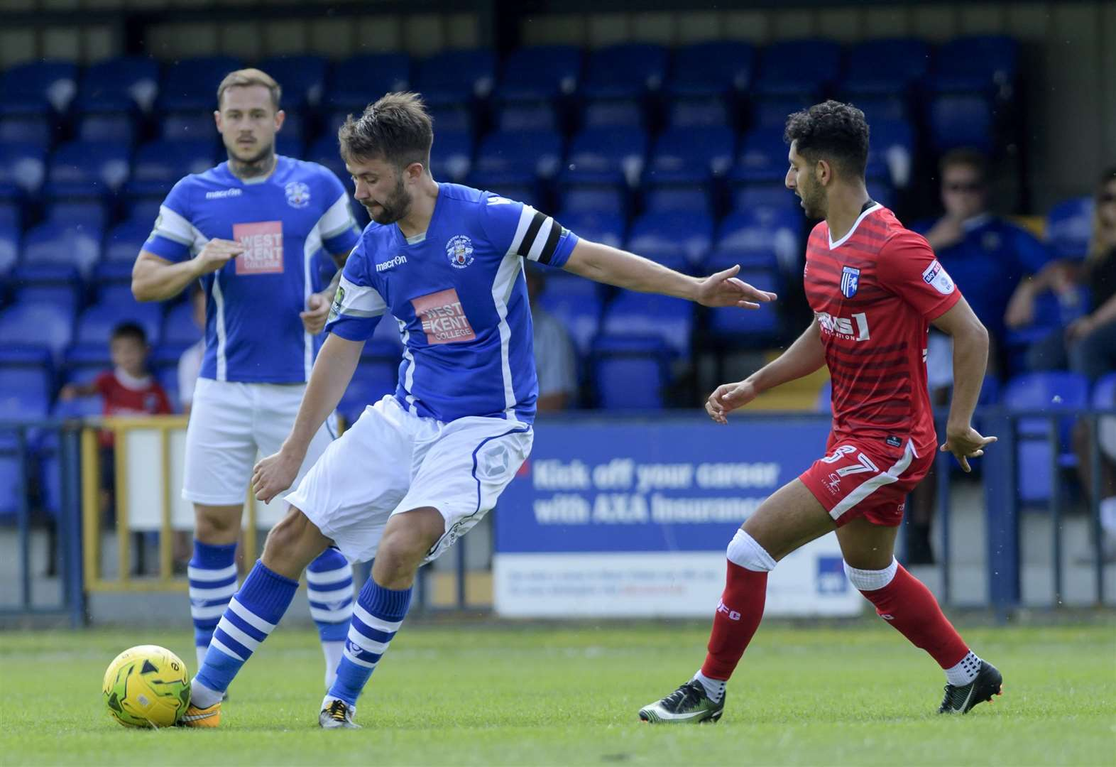 Tonbridge Angels 1 Gillingham 5 - top 10 pictures