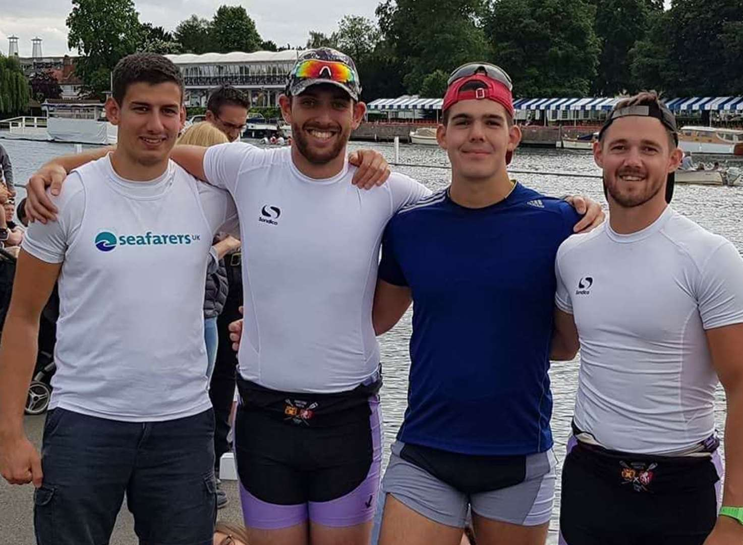 Rowing royalty
