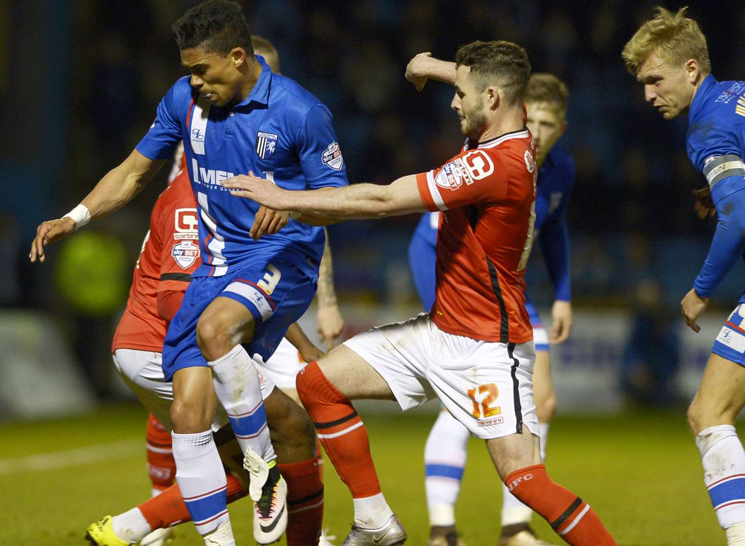 Gillingham v Walsall - in pictures