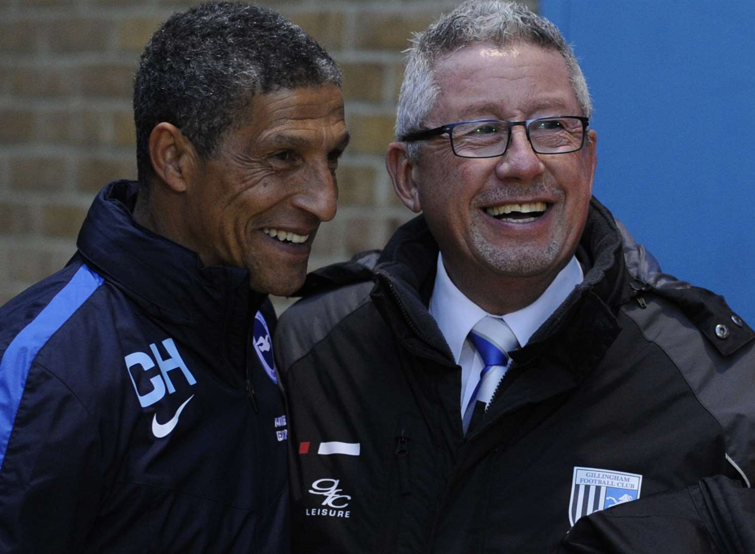 Hughton's the man, says Gills boss