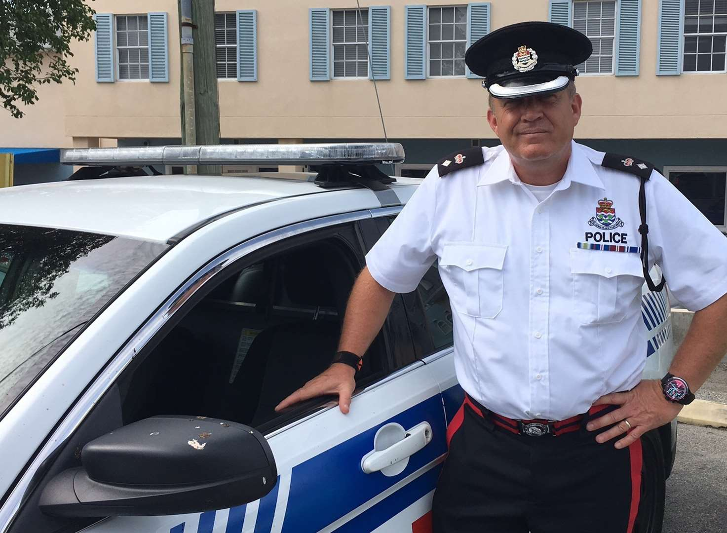 Police chief back in the force with exotic new beat