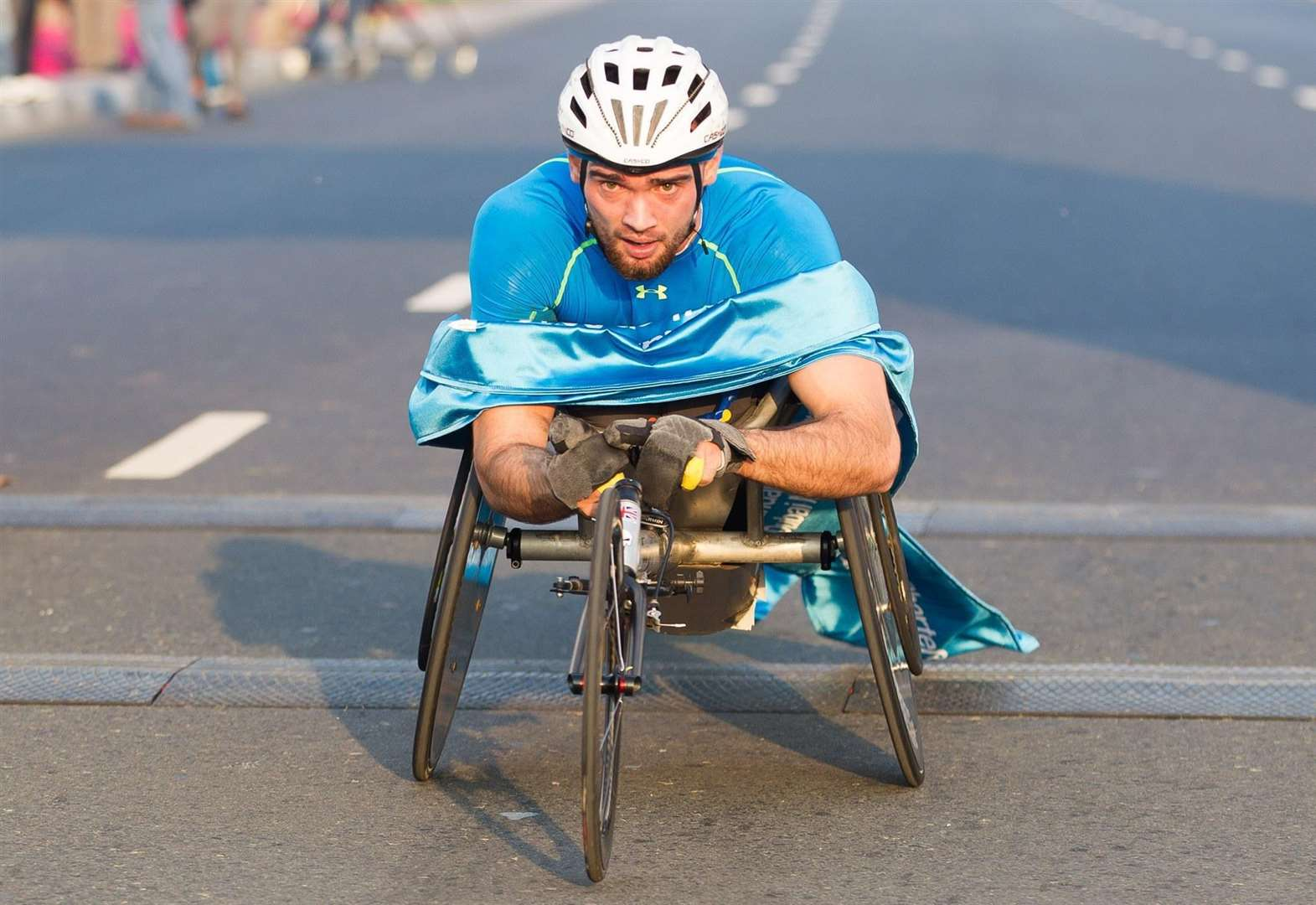 Wheelchair fundraiser for paralympian