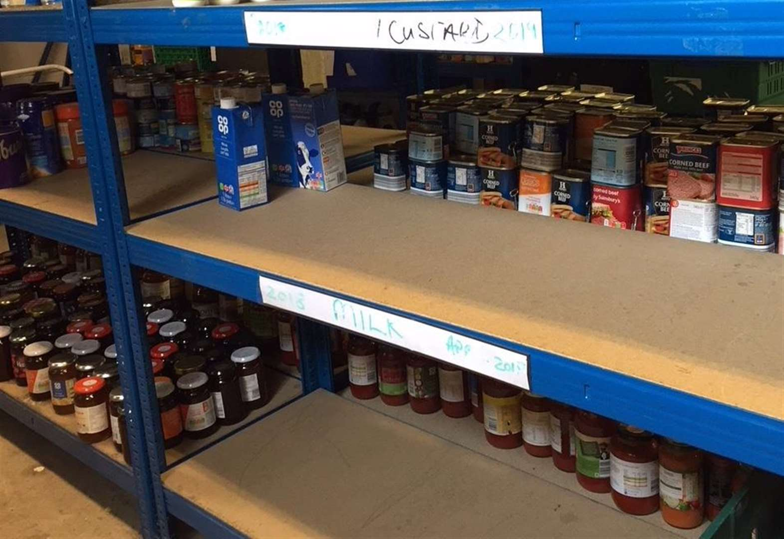 Foodbanks' desperate pleas for more help