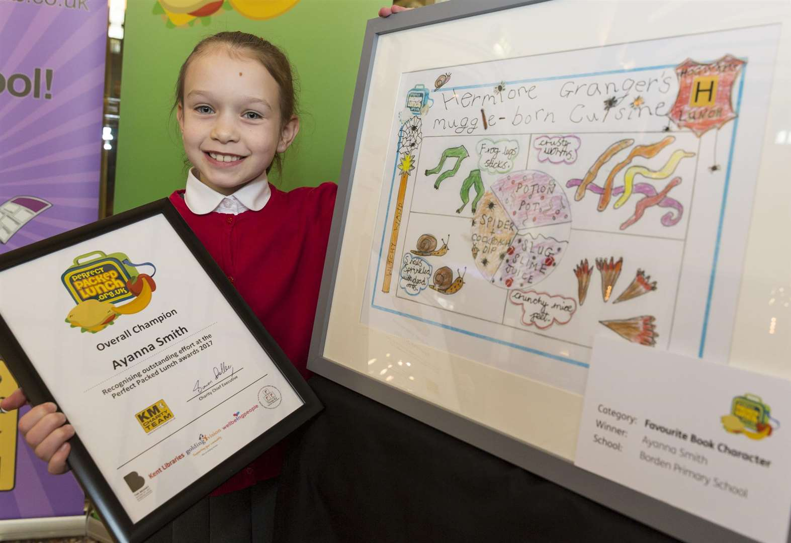 Contest for kids combines fine art and food