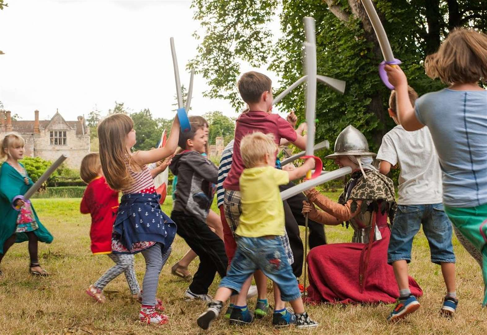 Joust the job for the summer holidays