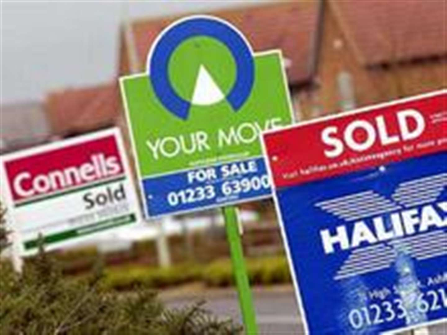House prices start to fall