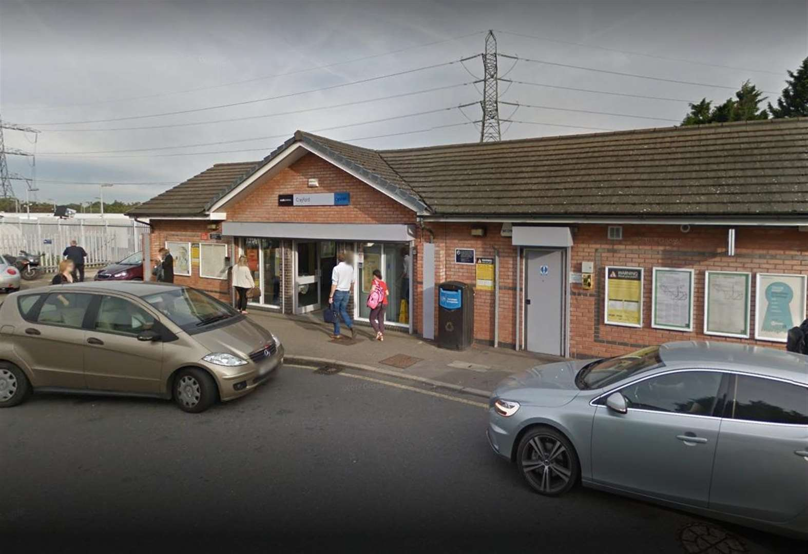 Armed police called to train station