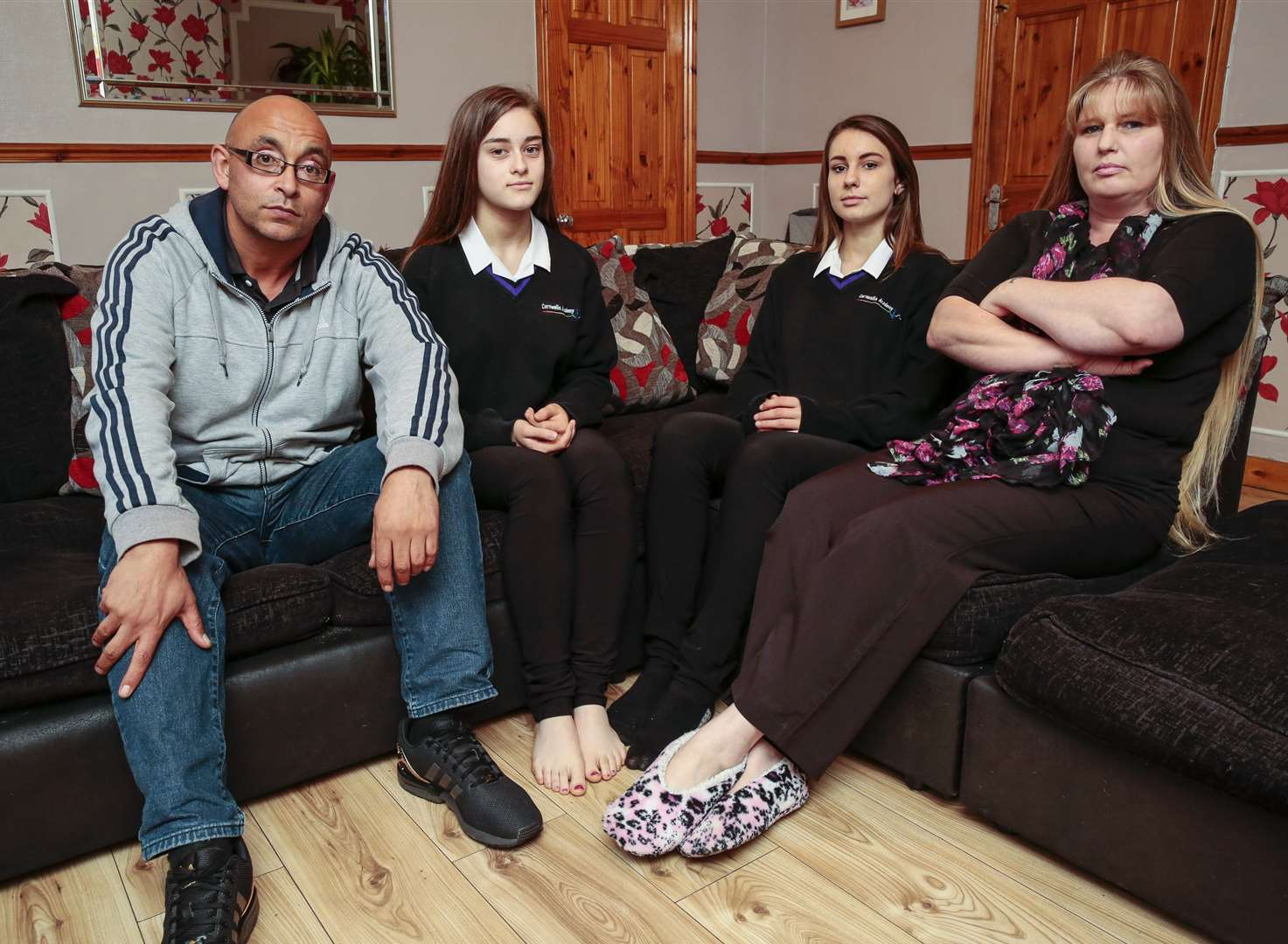 Skinny trousers spark school uniform row