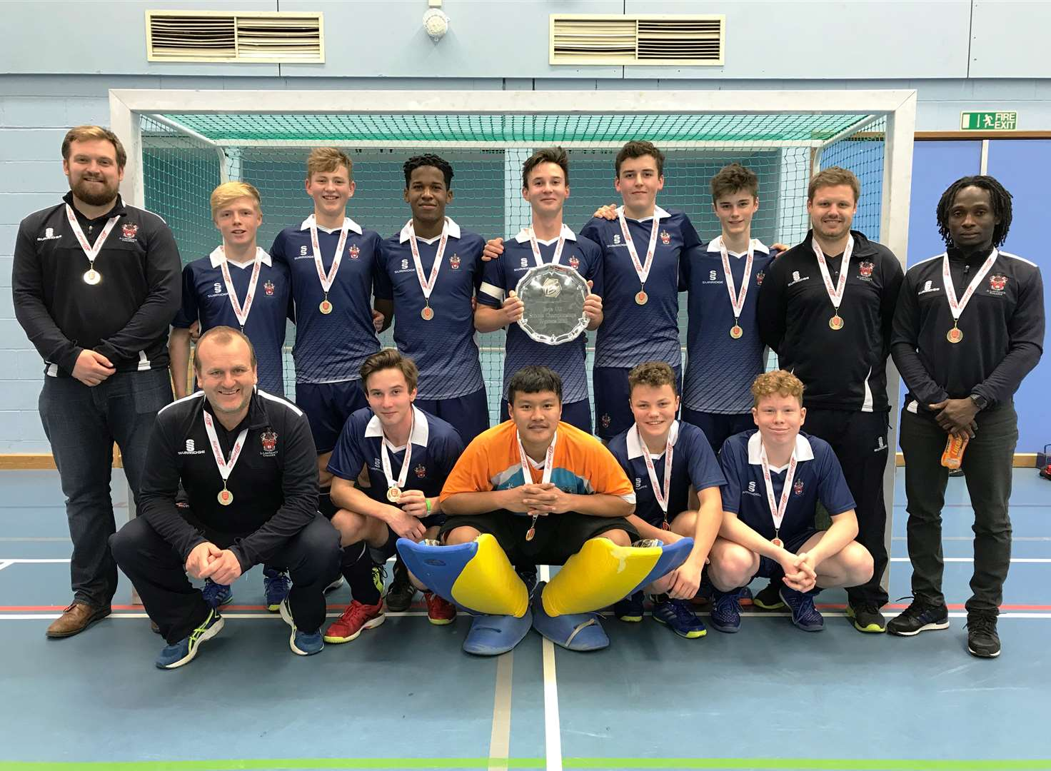School's hockey team success