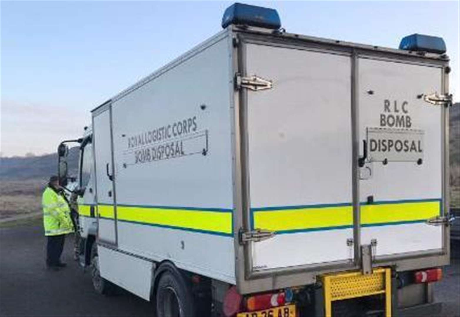 Bomb squad called after explosives found