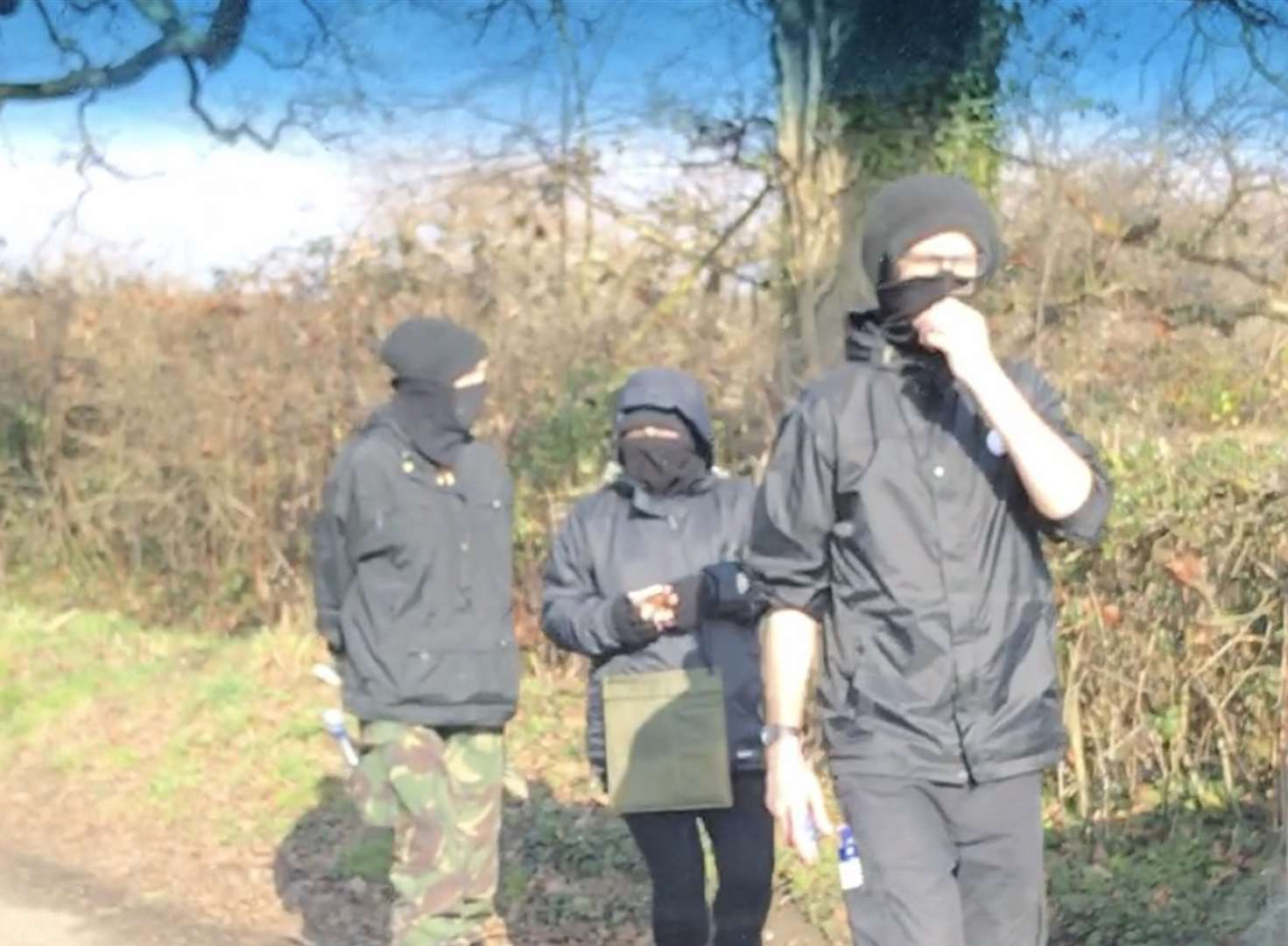 Masked hunt saboteurs accused of intimidating girl on pony