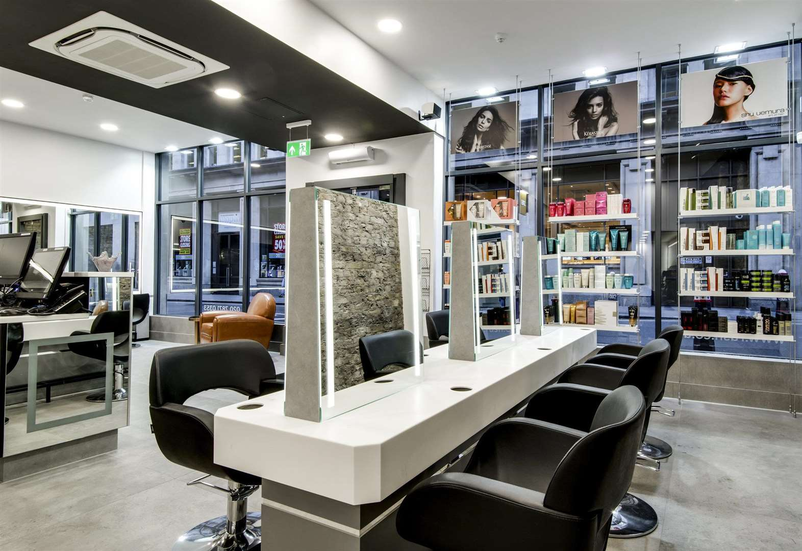 Top salon moves out of town centre mall