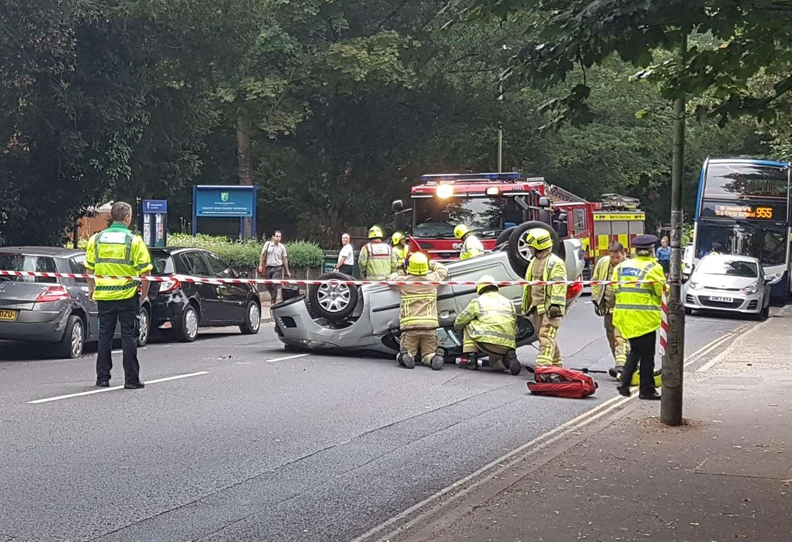 UPDATE: Road reopens after crash
