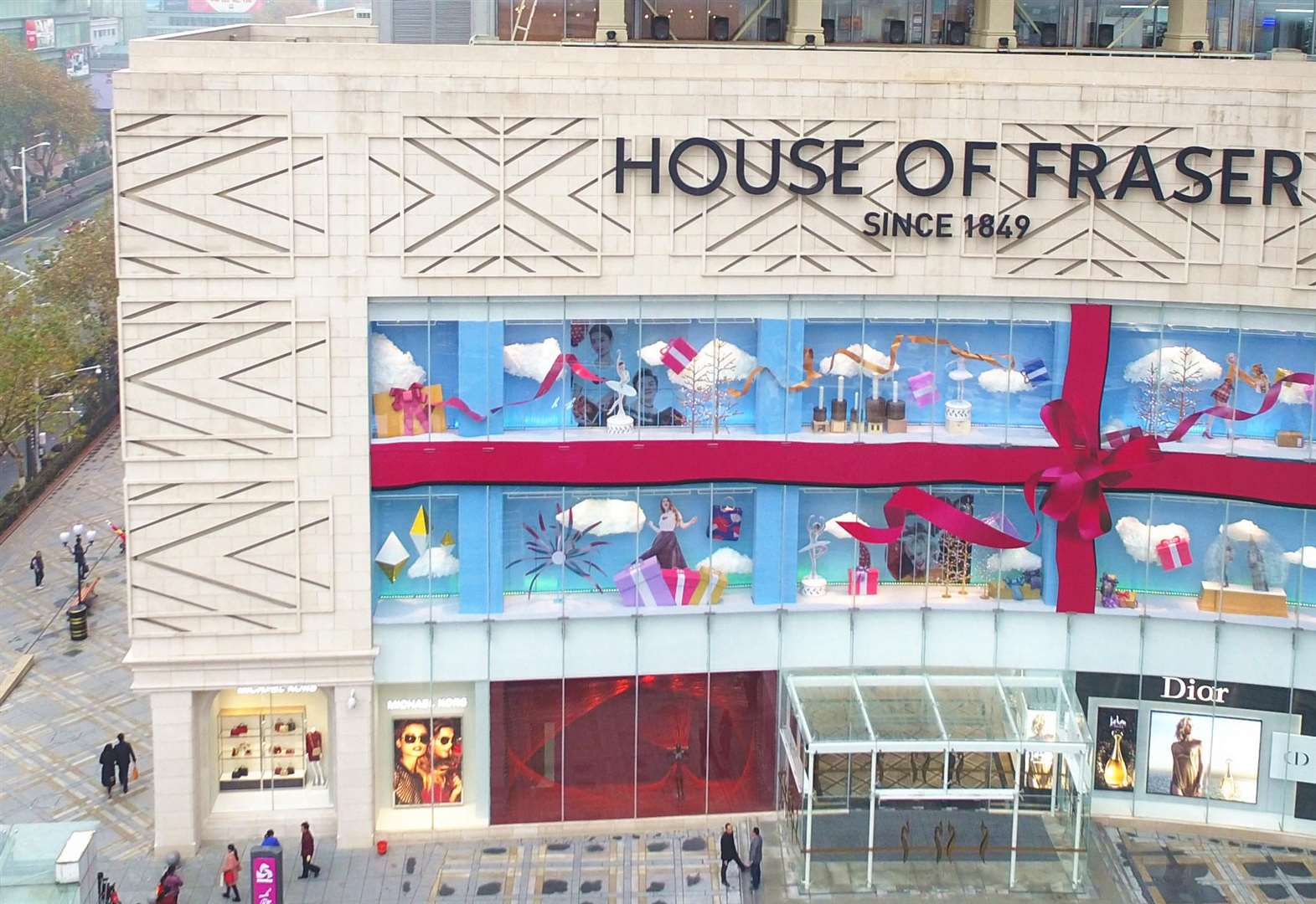 Question mark over Kent's House of Fraser stores