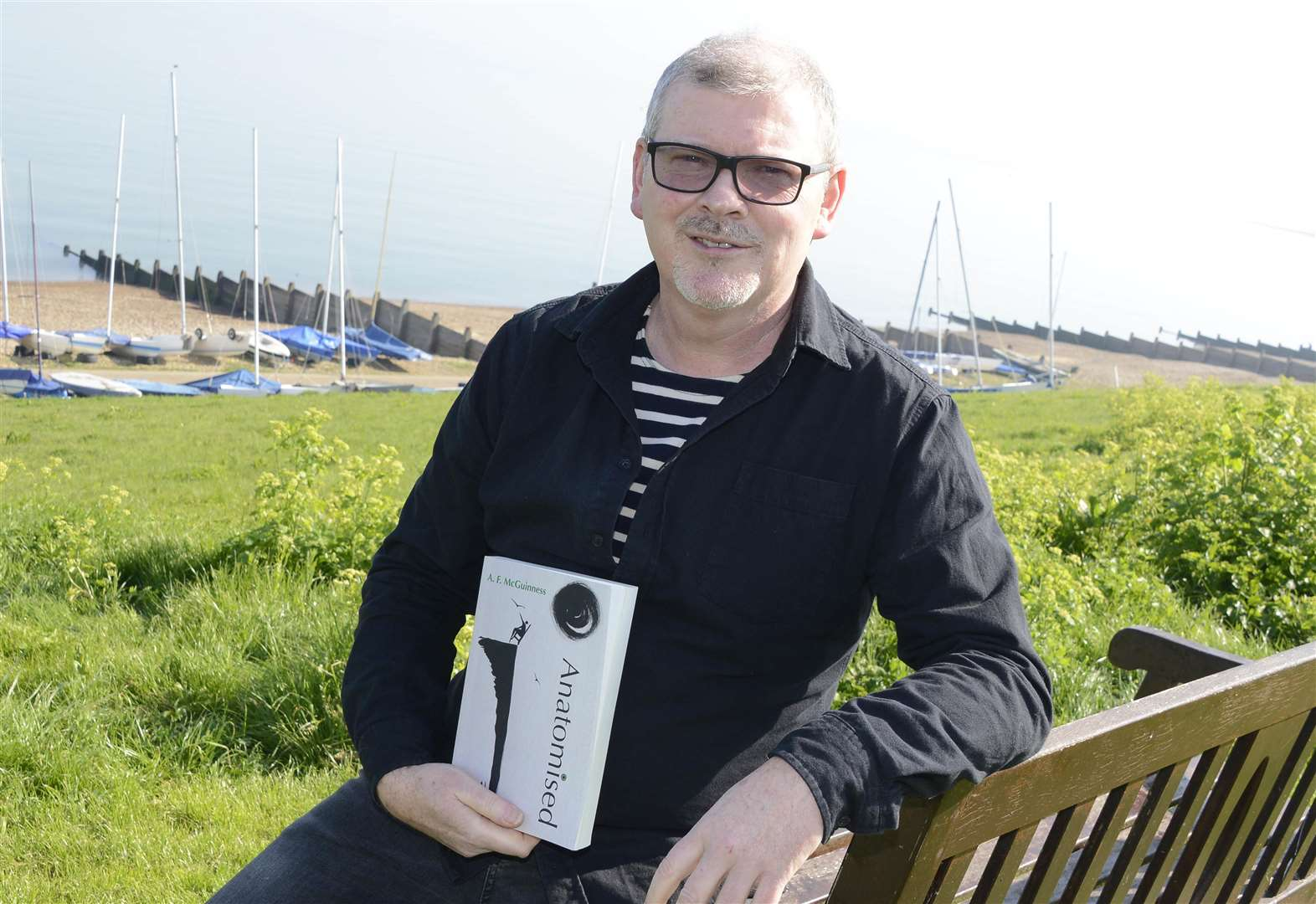 Author publishes book that 'saved his life'