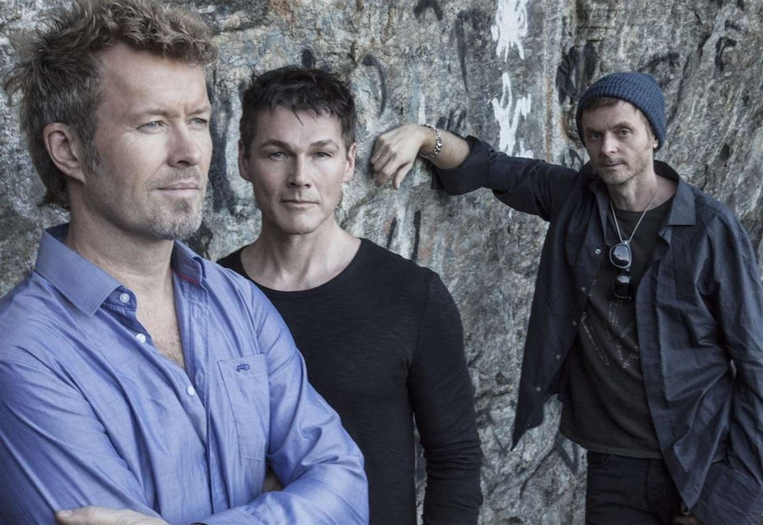 Eighties supergroup a-ha take on Kent