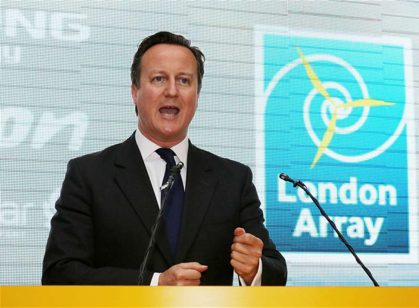 Prime Minister opens London Array wind farm