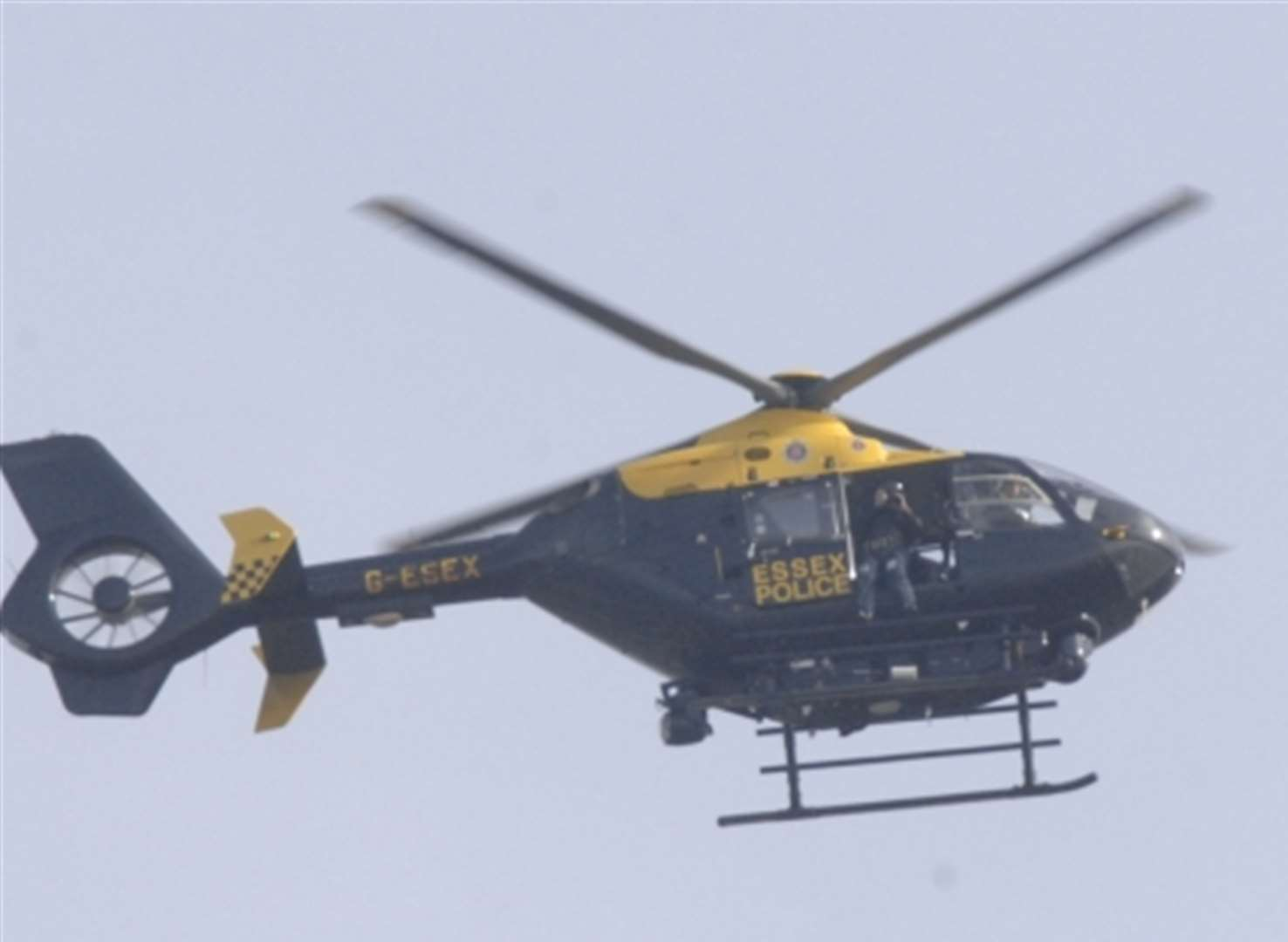 Police helicopter scrambled after concerns for man
