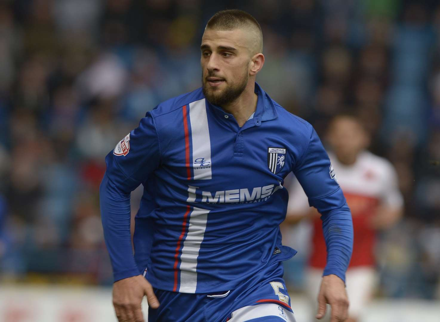 The Shouting Men with Gillingham's Max Ehmer
