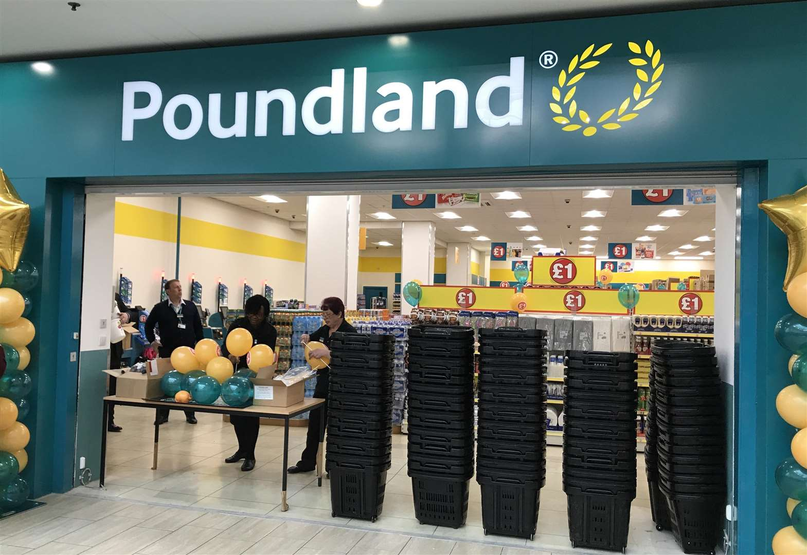 New Poundland opened by TOWIE star