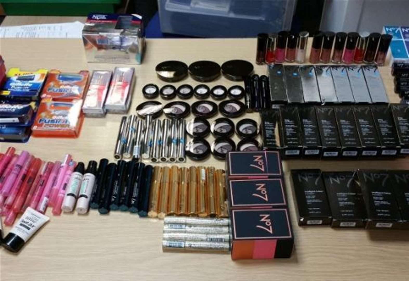 Suspected make-up thief arrested