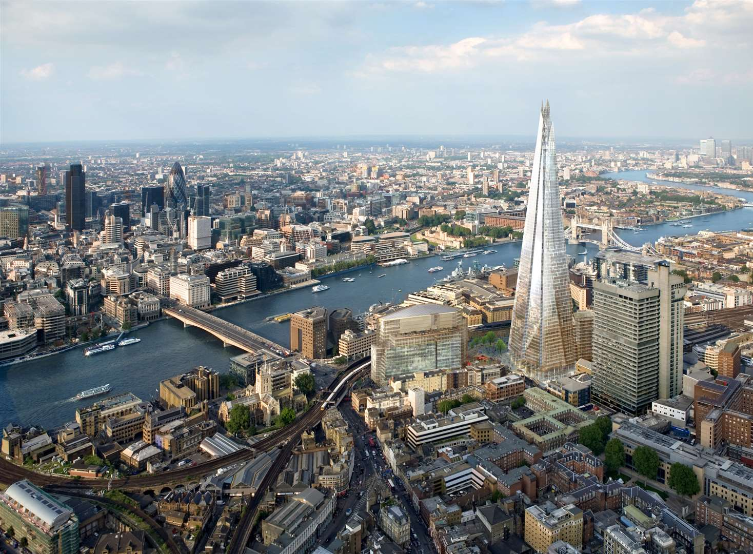 Giant mast taller than the Shard rejected