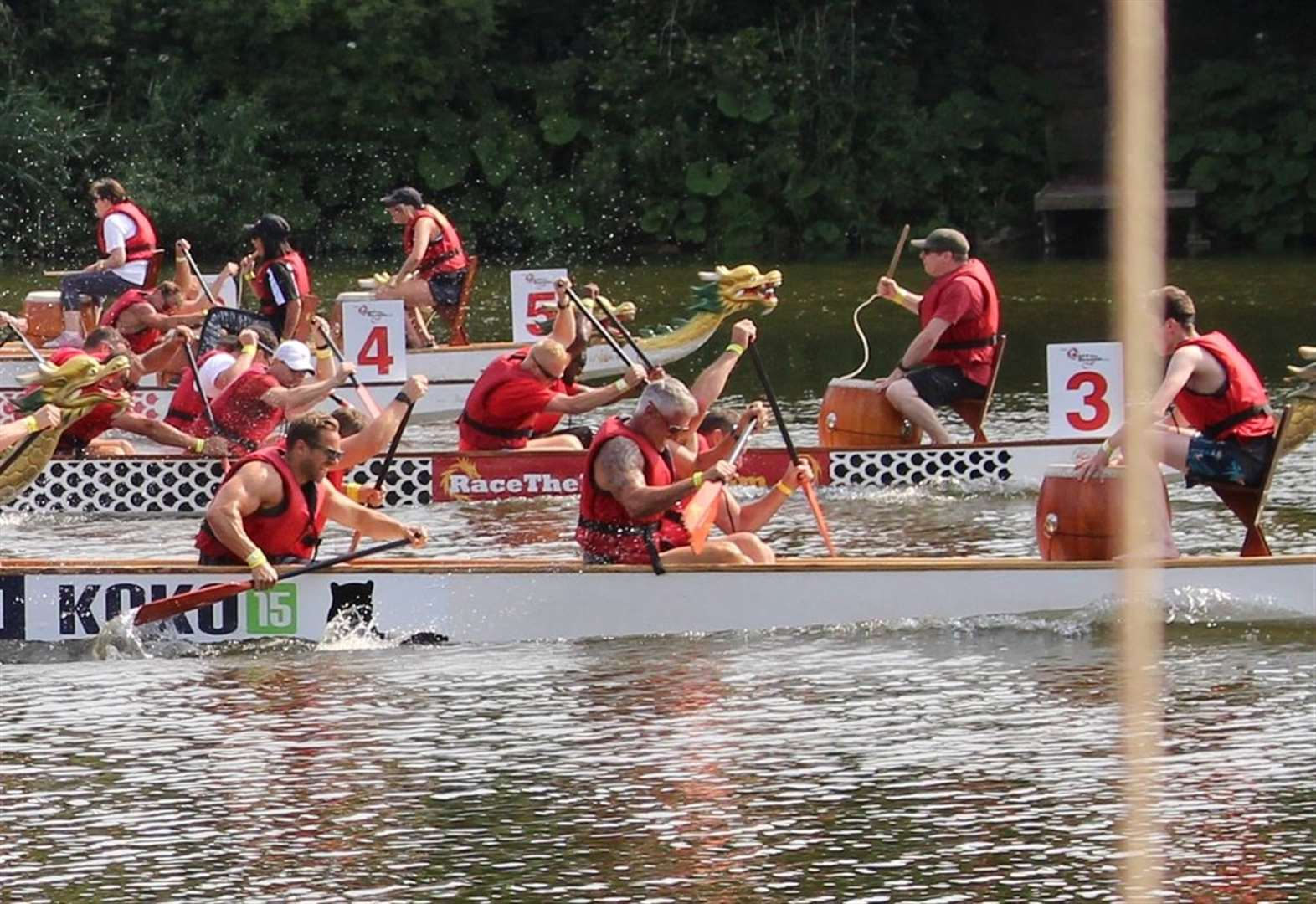 KM Dragon Boat Race