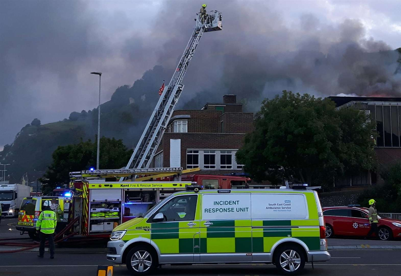Fires could have been arson attacks