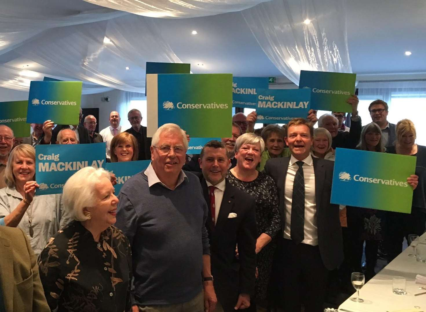 Craig Mackinlay re-selected for South Thanet seat