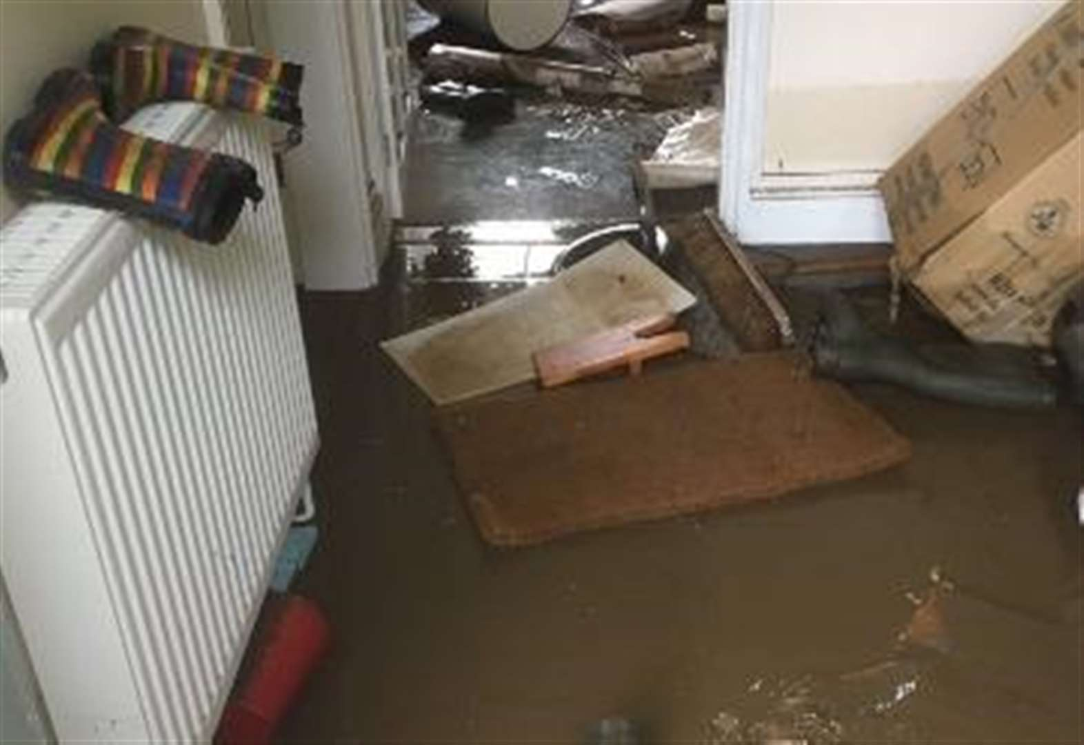 MP evacuates home after flood