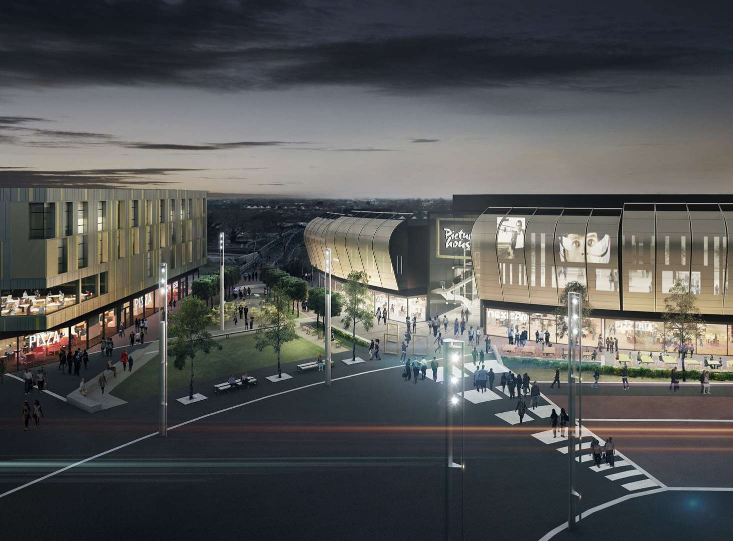 Work starts on town's £75 million revamp