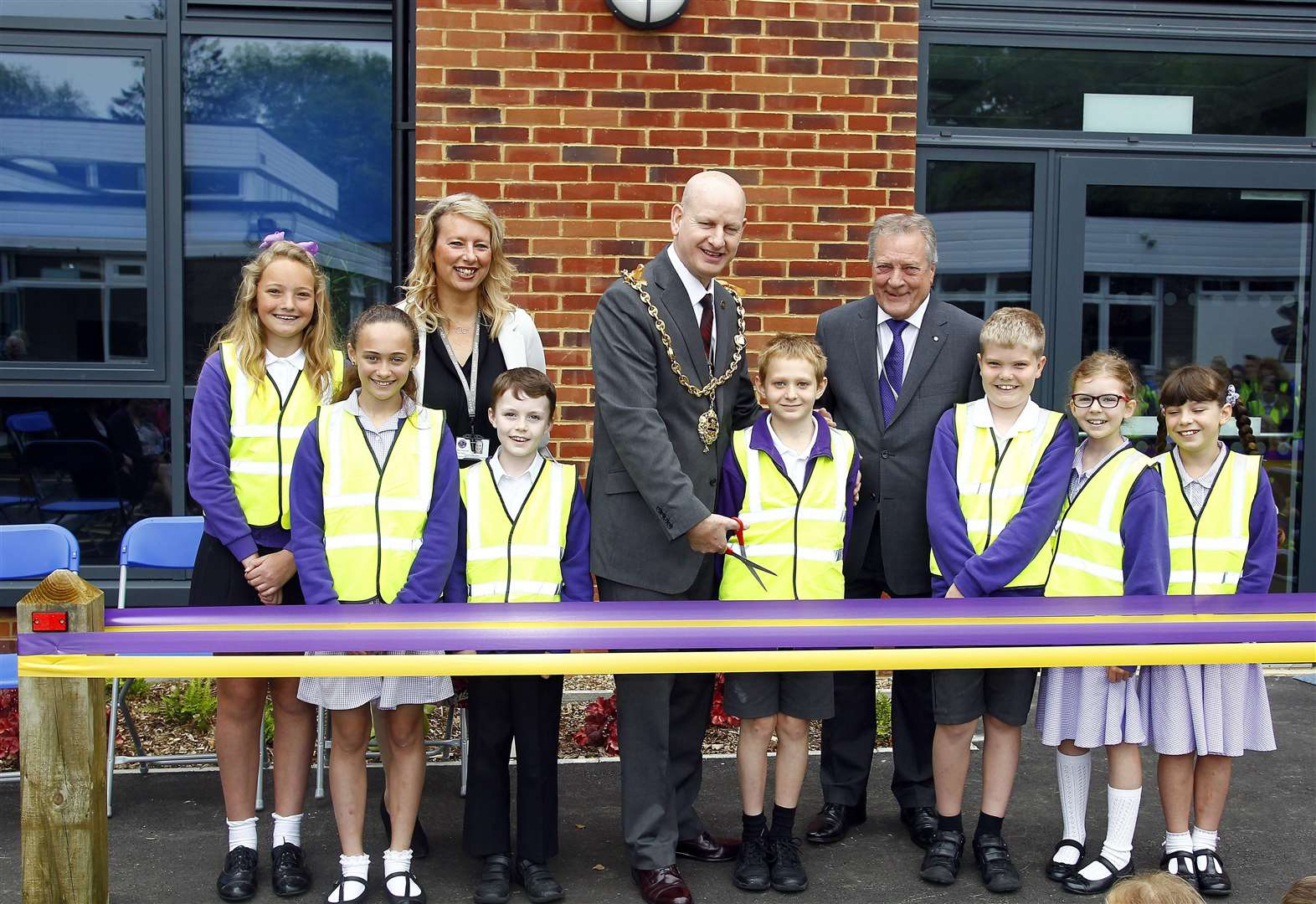 School extension named after chair of governors