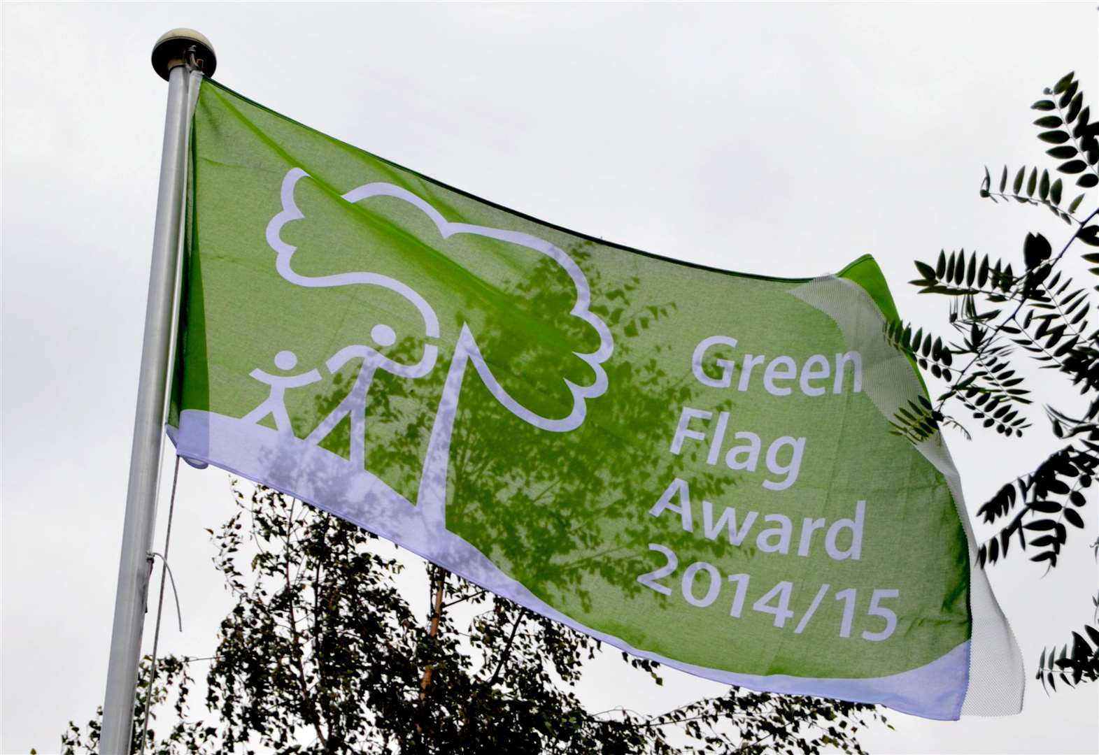 Green flags for Kent parks