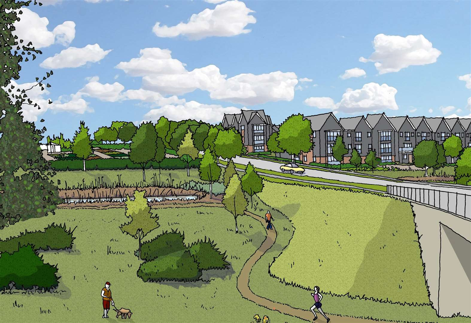 Over 170 homes approved for garden city