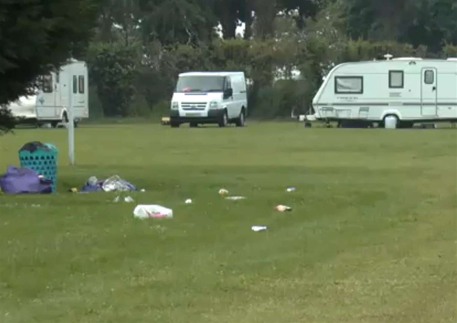Have your say on illegal traveller camps