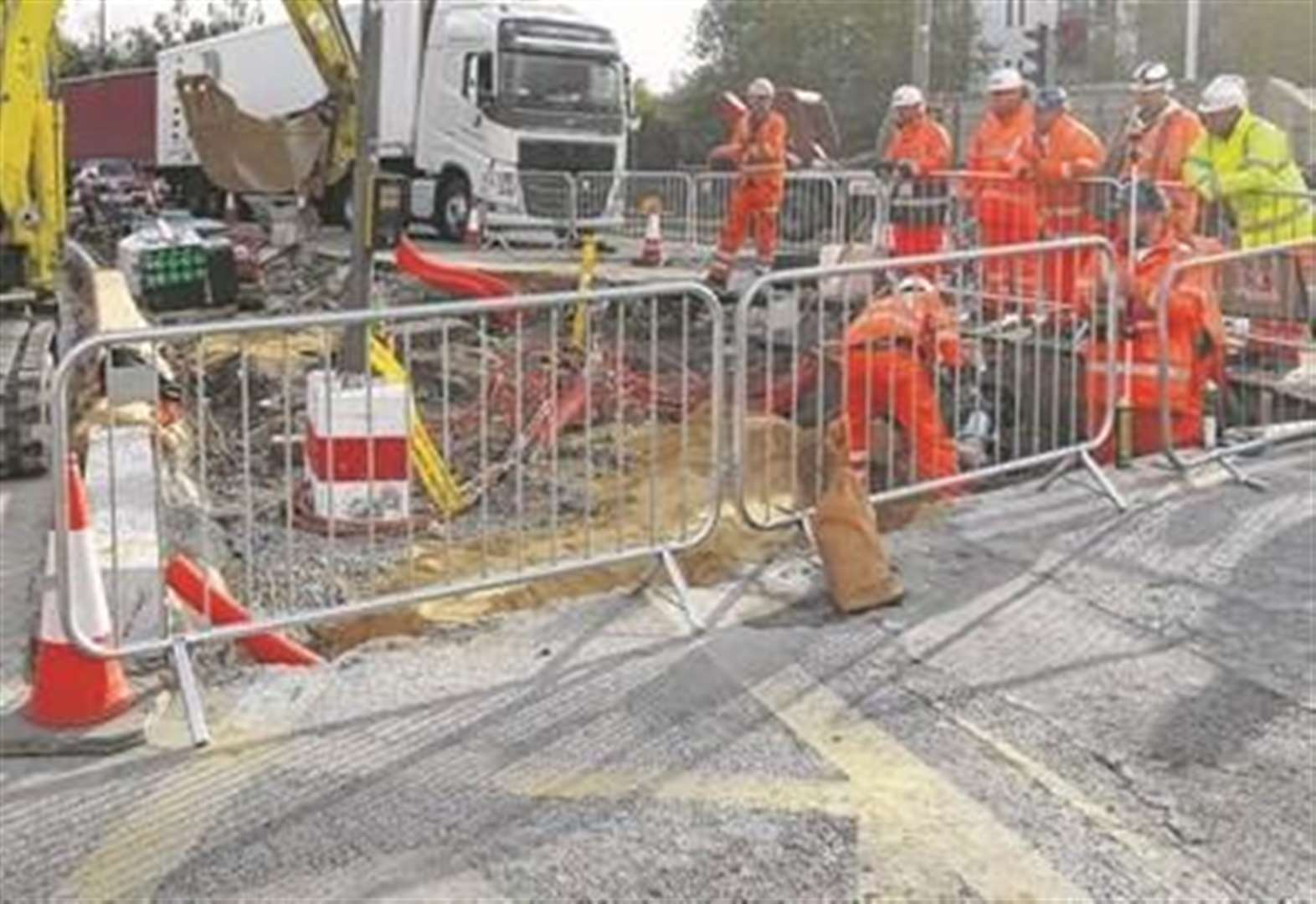 Drivers facing 32 weeks of roadworks